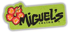 Miguel's Cocina.  Delicious Mexican food in a sit-down and hang out atmosphere.  They're famous around campus for their white dipping sauce that you'll get with your chips and salsa!