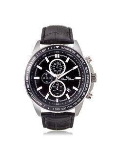 Lucien Piccard Men's LP-12552-01-BK Cartagena Black Leather Watch, http://www.myhabit.com/redirect/ref=qd_sw_dp_pi_li?url=http%3A%2F%2Fwww.myhabit.com%2Fdp%2FB00GFFSGQ4