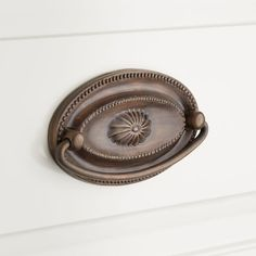 Hickory Hardware HH74638-DAC Somerset Collection 128mm Center to Center Pull Dark Antique Copper