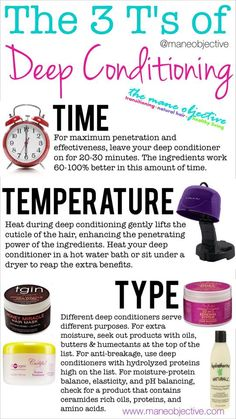 Deep Conditioning Tips