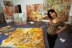 Cecily Brown in her