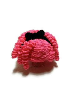 Curly Yarn Wig Hat Available in Lots of Colors by makinitmama, $65.00