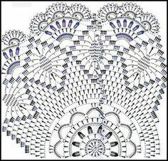 Carpeta de crochet con esquema imagui - Imagui