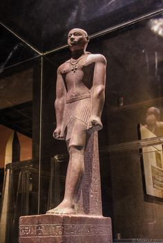 Statue of Prince Horemakhet (701-690 BC) - Son of King Shabaka and High Priest of Amun, The Nubian Museum, Aswan, Egypt