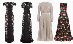 The queen of diplomatic dressing, Kate is most likely to sport some creations from Canadian designers.  Back in 2011 for her tour of the country, the royal wore a dress from Erdem - a Canada-born, London-based designer.  Kate has a gala dinner to attend on the third day of her trip and we think an exquisite Erdem gown would be perfect for the occasion. These are a few dresses from the current collection that would look great on Kate.