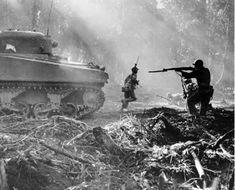 Forces américaines opérant contre les Japonais dans la Deuxième Guerre mondiale