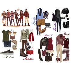 legend of korra fashion inspiration - Google Search
