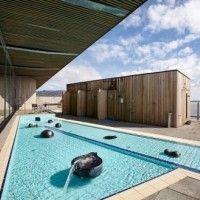 Love the natural sauna and the great design. Fontana, Laugavatn, Iceland.