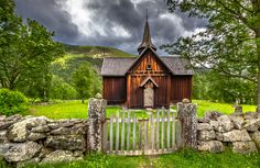 Nore Stave Church Norway by EuropeTrotter