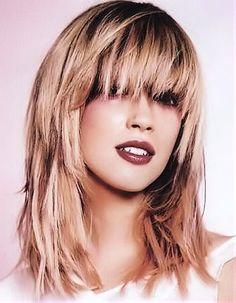 Medium Layered Hair Cuts with Bangs | Long Hairstyles on Medium Engaging Long Womens Layered Hairstyle