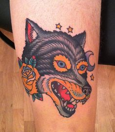 The other wolf tattoo - Jason Walstrom