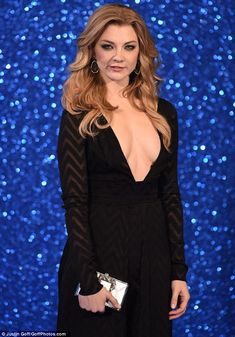 Natalie Dormer wows in plunging black gown at Zoolander premiere Beautiful Celebrities, Beautiful Actresses, Gorgeous Women, Beautiful People, Margaery Tyrell, Zoolander, Blond, Hollywood, Girl Crushes