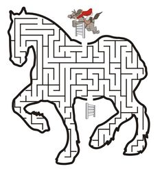 Horse Activity Printables