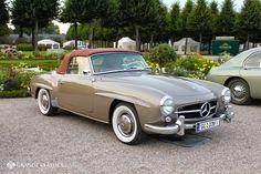 "Mercedes Benz #190SL - picture taken at the ""Classic Gala 2014"" in Schwetzingen/Germany. For all your Mercedes Benz 190SL restoration needs please visit us http://www.bruceadams190sl.com. (pic credit: grandeclassics.com)"