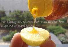 Use lemon with honey to fight black heads | 23 DIY Natural Beauty Tips