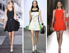 Choose dresses which had a somewhat sporty lines, so you feel like Venus Williams on heels