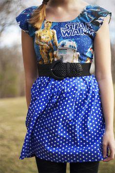 Droida dot dress