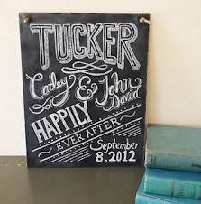 chalkboard wedding signs - Google Search