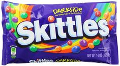 Skittles Darkside Candy Laydown Bag, 14 Ounce (Pack of 12)