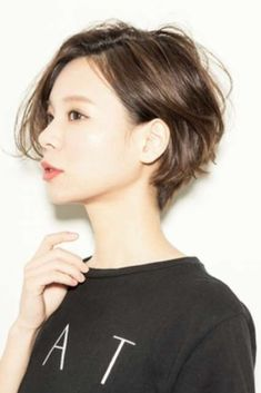 GREAT short haircut. | Tokyo Street Hairstyle