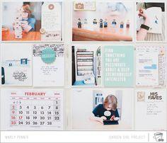Marcy Penner #projectlife #scrapbook