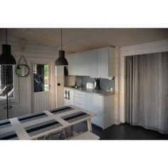 Sauna Kuikka - Oleskelutilaa Kitchen Cabinets, Storage, Furniture, Home Decor, Purse Storage, Decoration Home, Room Decor, Cabinets, Larger