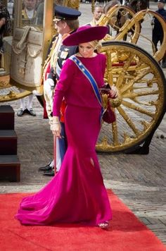 Princess Maxima celebrated the Prinsjesdag 2012 today.