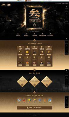 Ux Design, Game Design, Property Branding, Game Sales, Web Inspiration, Web Banner, Banner Design, Black Gold, Promotion