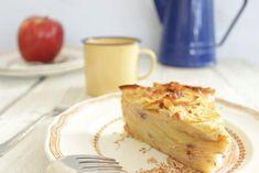 Gâteau invisible aux pommes, sans sucre ni beurre