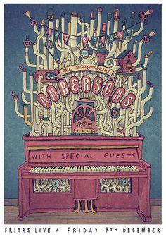 The Magnificent Ambersons - Andrés Lozano Illustration