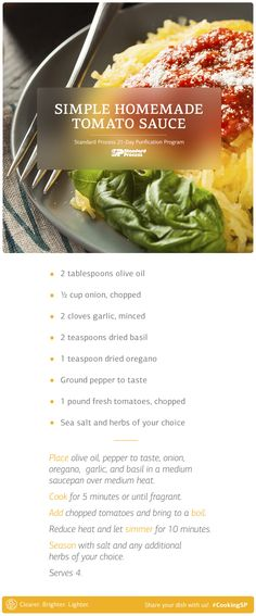 Primavera without the pasta. Try this on spaghetti squash.  From page 93 of our Purification cookbook.