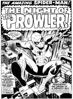 Amazing Spider-man #78 original art by John. Buscema.