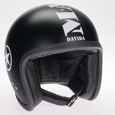 Mashed Matt Black Davida Ninety Two helmet Cheap Motorcycle Helmets 6ab7fc5919c76