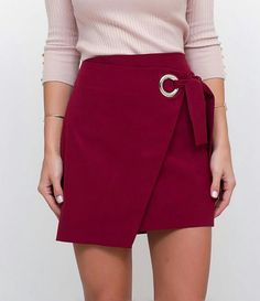 Pin by Ana Lucia on Short Saia in 2019 Fall Skirts, Cute Skirts, Short Skirts, Cute Dresses, Casual Dresses, Pink Fashion, Hijab Fashion, Fashion Dresses, Hijab Styles