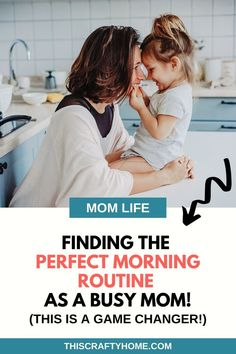 As moms, it's hard to find that perfect morning routine. After a lot of trial and errors, I came up with some great tips! Want to learn how to find the perfect morning routine a sa mom? A Routine you that actually works and fits into your busy mom life schedule! Check out these tips for finding the perfect morning routine for busy moms and even new moms! Parenting Quotes, Parenting Hacks, Toddler Crafts, Toddler Activities, Quotes About Motherhood, Stay At Home Mom, Second Baby, Self Care Routine, Stressed Out