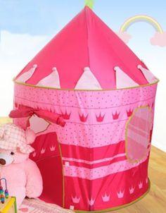 Tiendas de campaña SLONG Niños Pop Up Play Tent Princess Boys Camping Game House Gourmet Castle Toy Play Tent/Playhouse/Den by