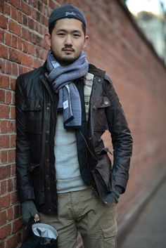 LEATHER RUGGED DapperLou.com | Men's Fashion & Style Blog | Street Style | Online Shopping