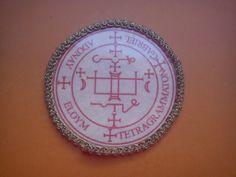 Archangel Gabriel seal,sigil,prayer,grimorioum,God,humanity,love,Moon,Armadel,divine mysteries secret techniques of angelic magic,Prophet