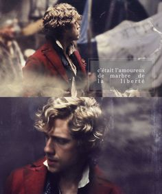 """""""He was the marble lover of liberty"""" <3 (gosh, Aaron...must you be so attractive?)"""