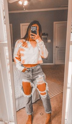 Cute Lazy Outfits, Trendy Fall Outfits, Casual School Outfits, Teenage Girl Outfits, Popular Outfits, Teen Fashion Outfits, Retro Outfits, Look Fashion, Stylish Outfits
