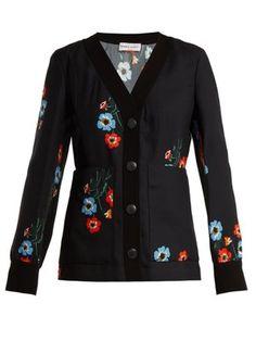 Floral-print button-through crepe top   Sonia Rykiel   MATCHESFASHION.COM