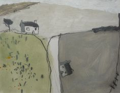 David Pearce is a renowned Artist living in Cornwall Paintings I Love, Small Paintings, Landscape Art, Landscape Paintings, Kitsch, Naive Art, Land Scape, New Art, Painting & Drawing
