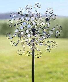 Mirror Disc Octopus Wind Spinner #zulilyfinds