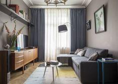 Panellakás a 3. kerületben - 50m2-es, kétszobás otthon felújítása és berendezése egyedülálló hölgy részére - Lakberendezés trendMagazin Mc Intosh, Living Spaces, Living Room, Cool Rooms, Small Apartments, Cozy House, House Colors, Apartment Therapy, Diy Home Decor