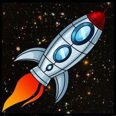 Art for space themed little boys room