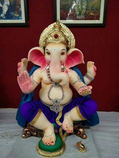 जय गणेशाय नमः ब्रह्मदत्तत्यागीहापुड़ Dagdusheth Ganpati, Ganpati Bappa, Lord Ganesha, Lord Krishna, Lord Shiva, Ganesh Wallpaper, Ganapati Decoration, Ganesh Idol, Shree Ganesh