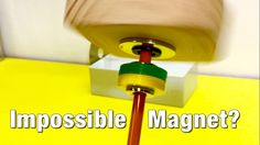 Impossible Magnet Levitating Locked in Space! Magnets don't work this way! This impossible magnet locks another magnet in space, trapping it from . Magnetic Levitation, See Videos, Astronauts, Confirmation, Astronomy, Locks, Planets, Concrete, Brick