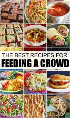 The Best Grilled Steak Marinade The Best Recipes for Feeding A Crowd (Girls Camp, Family Reunions, Youth Groups, etc) from Jamie Cooks It Up! Potluck Recipes, Summer Recipes, Dinner Recipes, Potluck Themes, Potluck Ideas, Potluck Dishes, Tailgating Recipes, Budget Recipes, Dinner Ideas
