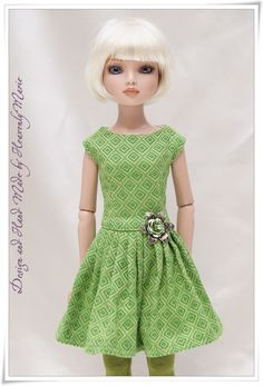 Onepiece Dress Outfit for Tonner Ellowyne by Heavenly Marie