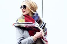 ZARA JACQUARD SCARF #fashionjackson